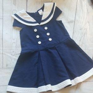 💟3/$24💟GYMBOREE SAILOR/NAUTICAL DRESS